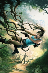 comics lara croft frozen omen