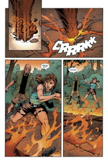 Preview 2 de Lara Croft Frozen Omen #4