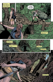 extrait de Tomb Raider 16 Nest of Vipers