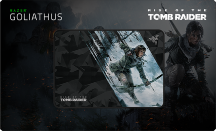 tapis de souris Razer Goliathus Rise of the Tomb Raider