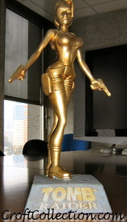 Statuette Lara Croft Tomb Raider Gold