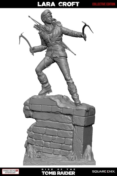 statue-gamingheads-laracroft-riseofthe-tombraider-20years-collective 03