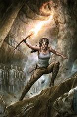 Couverture de la nouvelle série Tomb Raider 2016