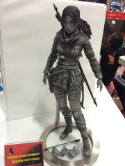 la figurine prototype de Lara Croft de Rise of the Tomb Raider