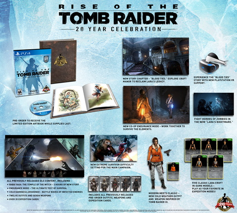Rise of the Tomb Raider sur Playstation 4