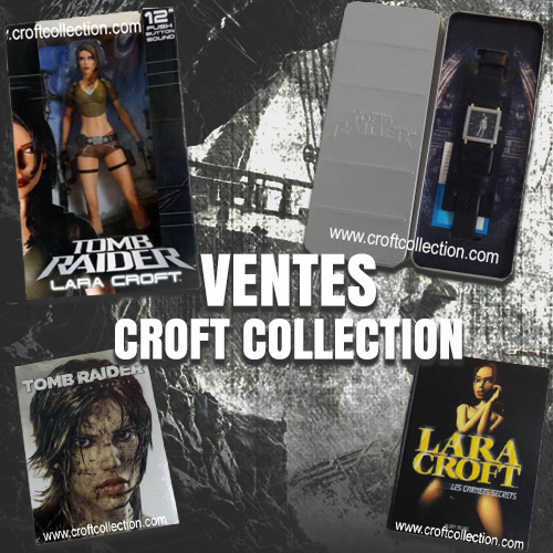 ventes Lara Crort et Tomb Raider sur ebay