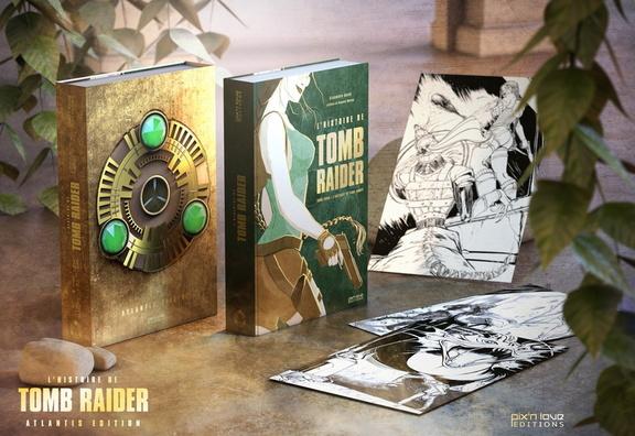 Nouveau livre sur Lara Croft en Français
