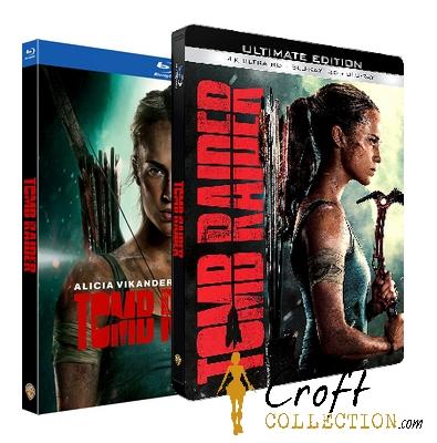 Tomb Raider le film, pré-commande des blue-ray et DVD disponible !