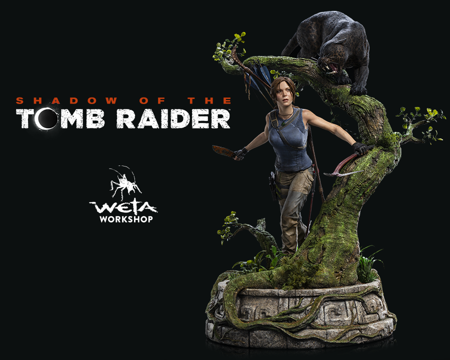 Weta Workshop x Shadow of the Tomb Raider