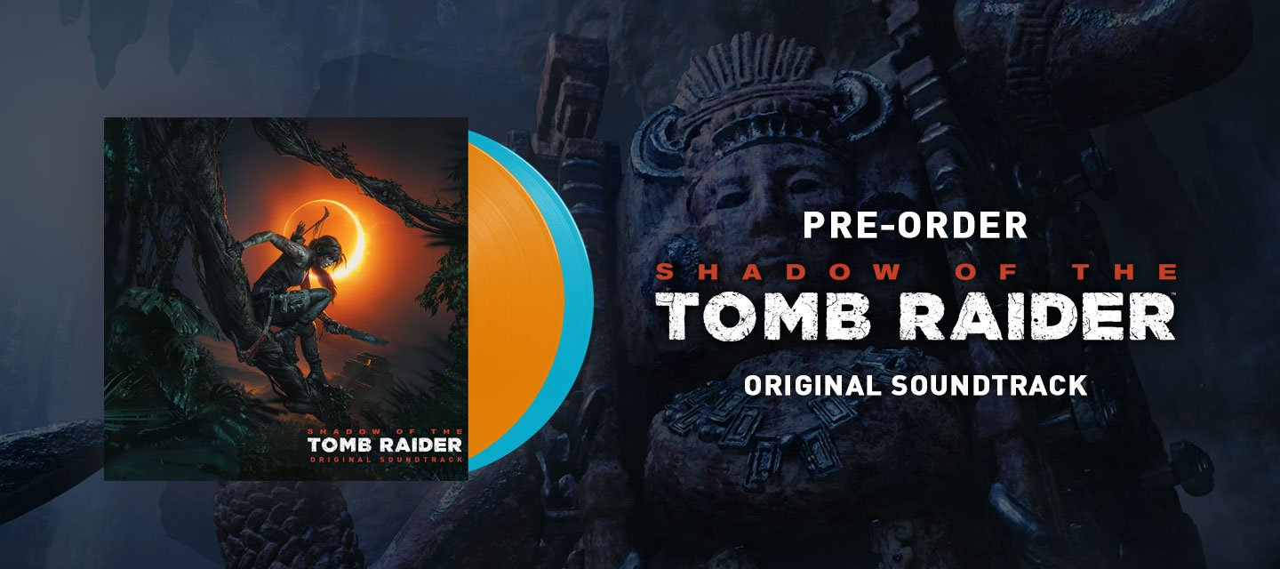 OST double vinyle de Shadow of the Tomb Raider