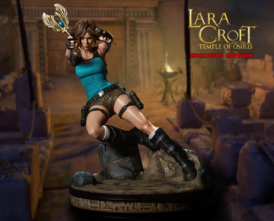 statuette Gaming Heads Lara Croft