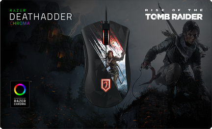 Souris Razer Deathadder Chroma Rise of the Tomb Raider