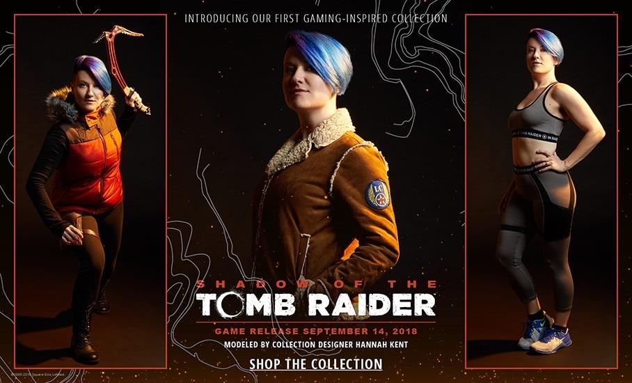 Ligne de vêtements Tomb Raider par Her Universe