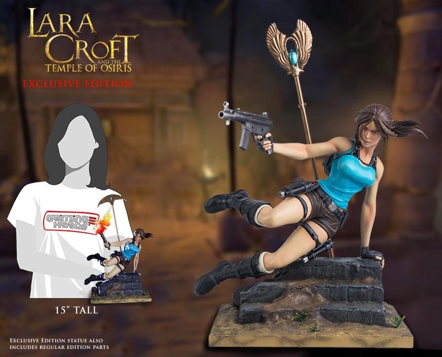 Statuette Gaming Heads Lara Croft & The Temple of Osiris