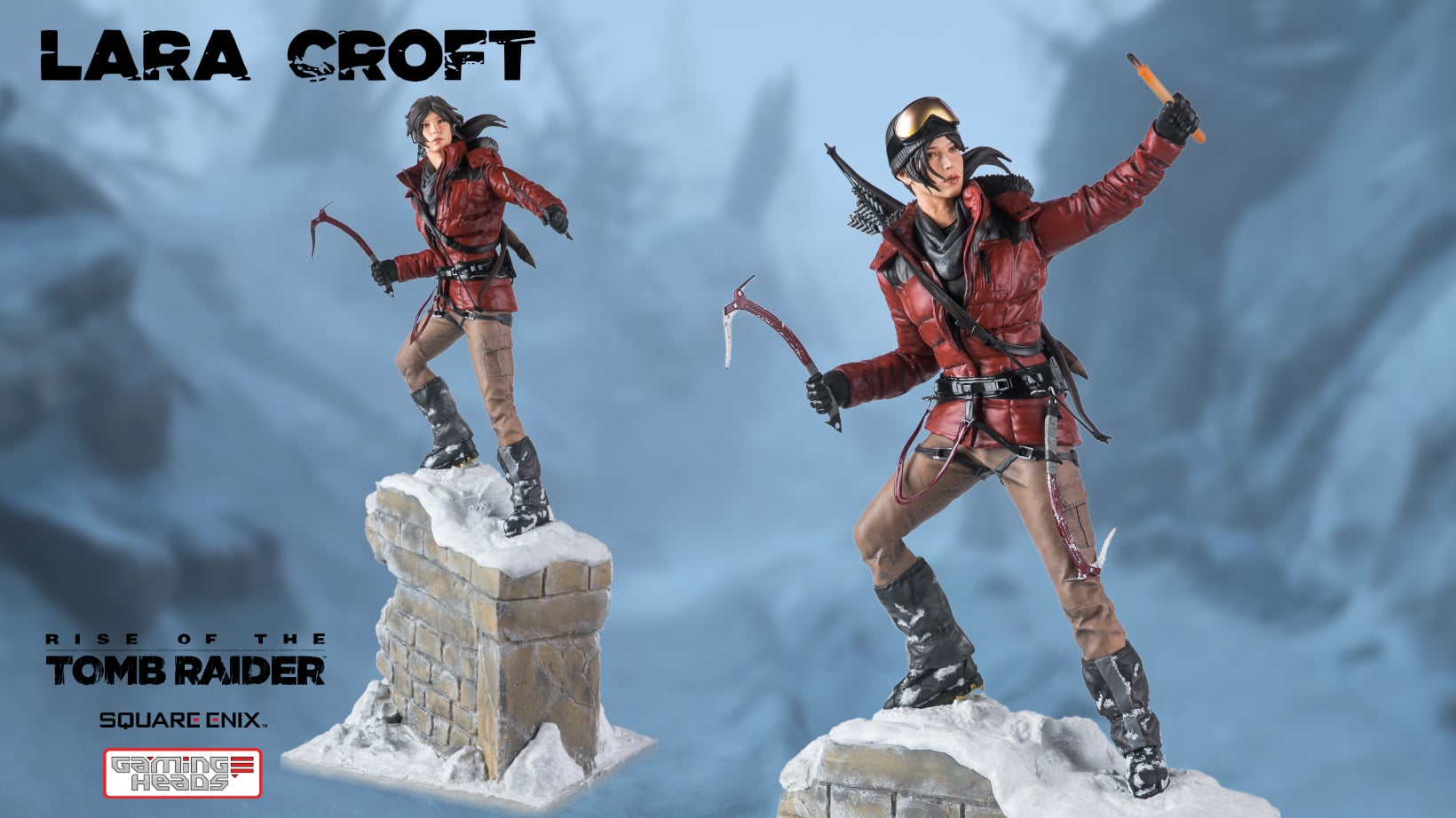 Statuette Gaming Heads Rise of the Tomb Raider